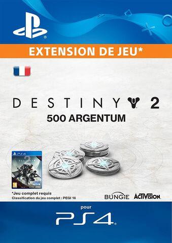 Dlc Destiny 2 - 500 Argentum De Destiny 2
