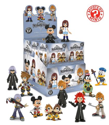 Figurine Mystere - Kingdom Hearts - Mystery Mini