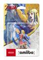Figurine Amiibo Zelda Zelda Et Son Célestrier
