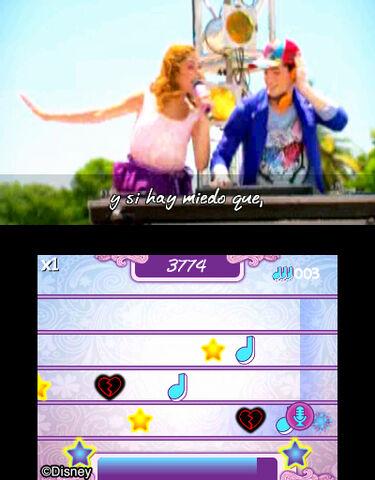 Disney Violetta : Rythme et Musique