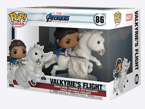 Figurine Funko Pop! N°86 Ride - Avengers Endgame - Valkyrie Sur Cheval