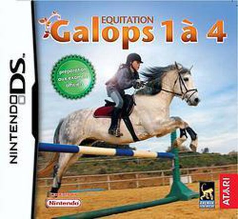 Equitation, Galops 1 à 4