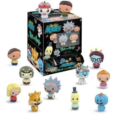 Figurine Mystere - Rick And Morty - Pint Size Heroes