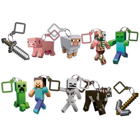 Porte-clés - Minecraft - Figurine 6 cm
