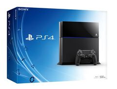 Playstation 4 500 Go Noire