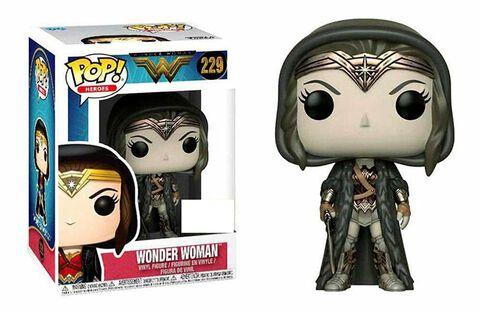 Figurine Funko Pop! N°229 - Wonder Woman - Wonder Woman en manteau (sepia)