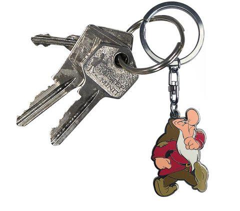 Porte-clés - Blanche-Neige - Grincheux