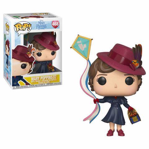 Figurine Funko Pop! N°468 - Mary Poppins - Mary Poppins avec cerf-volant
