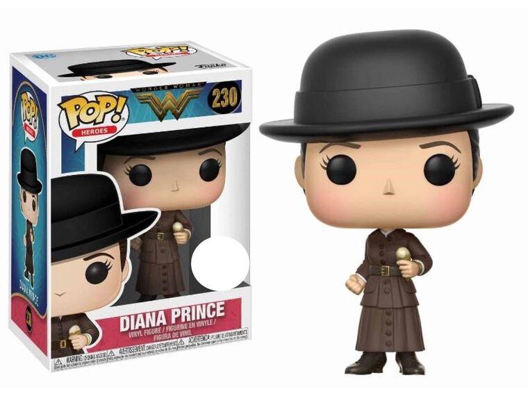 Figurine Funko Pop! N°230 - Wonder Woman S2 - Diana Prince Avec Une Glace