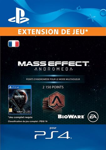 DLC - Mass Effect Andromeda 2150 Points