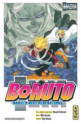 Manga - Boruto : Naruto Next Generations - Tome 2