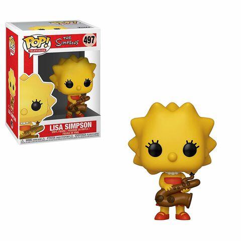Figurine Funko Pop! N°497 - Simpsons - Lisa avec saxophone