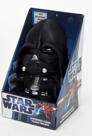 Peluche - Star Wars - Sonore Darth Vader 23 Cm