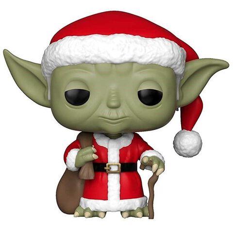 Figurine Funko Pop! N°277 - Star Wars - Holiday Yoda Père Noël