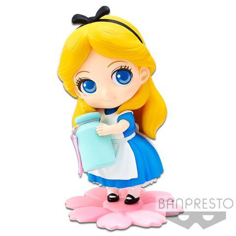 Figurine Q Posket Sweetiny - Alice Aux Pays Des Merveilles - Alice