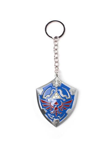 Porte-clés - Zelda - Bouclier Hyrule 3D - En métal