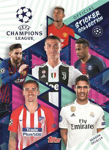 Cartes - Uefa Champions League - Blister De 6 Sachets (30 Stickers) 2018-2019
