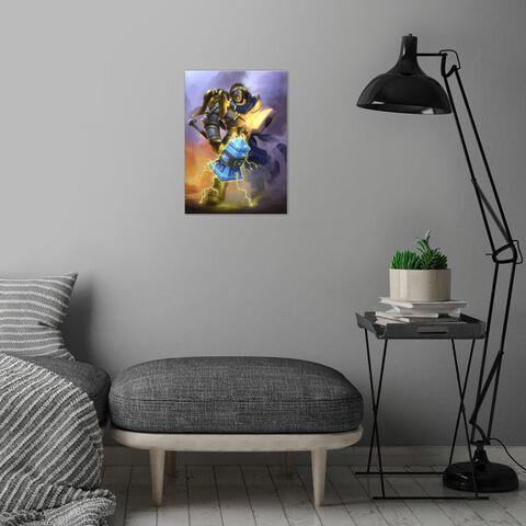 Poster Métallique - Hearthstone - Uther The Lightbringer