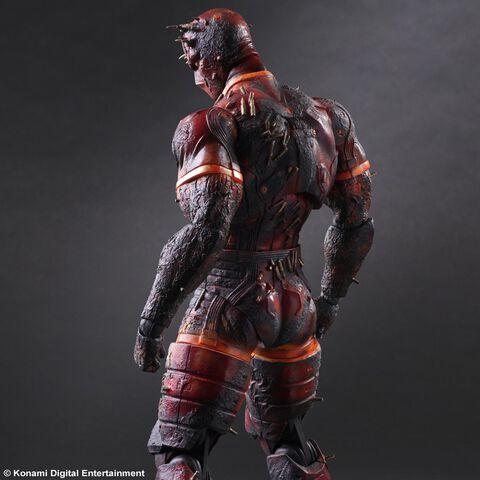 Figurine - Metal Gear Solid V The Phantom Pain - Play Arts Kai - Man On Fire 29