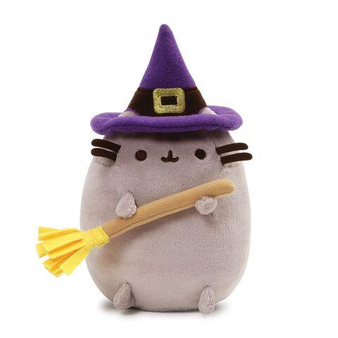 Peluche - Pusheen - Halloween petite sorcière