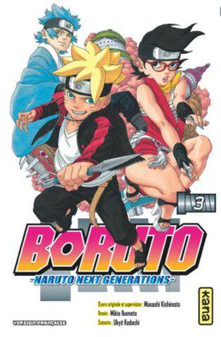 Manga - Boruto : Naruto Next Generations - Tome 3