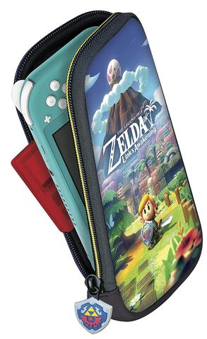 Pochette Officielle Switch Lite Zelda Link's Awakening