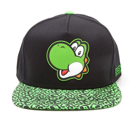Casquette - Nintendo - Yoshi Vert et Noir