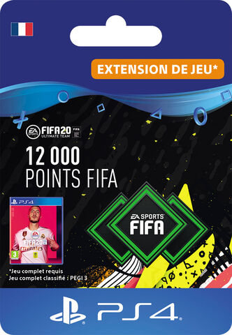 FIFA 20 - Ps4 - FIFA Ultimate Team - 12000 Pts