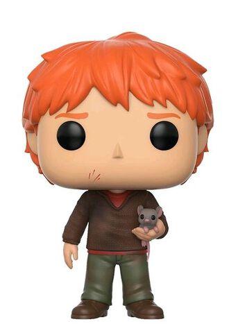 Figurine Funko Pop! N°44 - Harry Potter - Ron Weasley avec Croutard