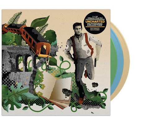 Vinyle Uncharted The Nathan Drake Collection (triple Coloured Vinyl)