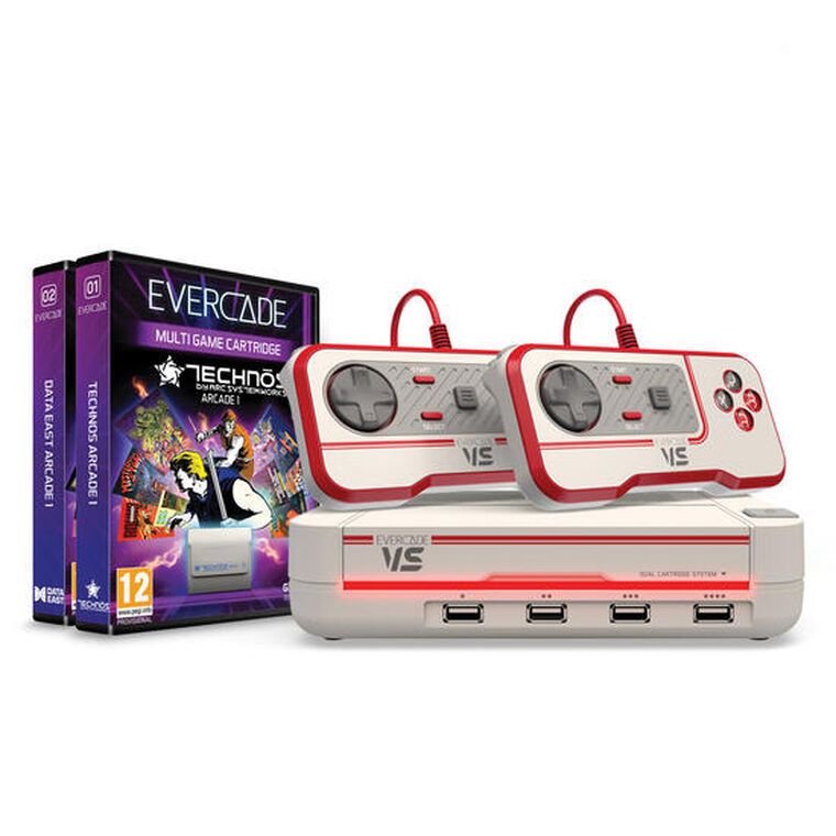 Evercade Vs Premium Pack Technos & Data East Arcade