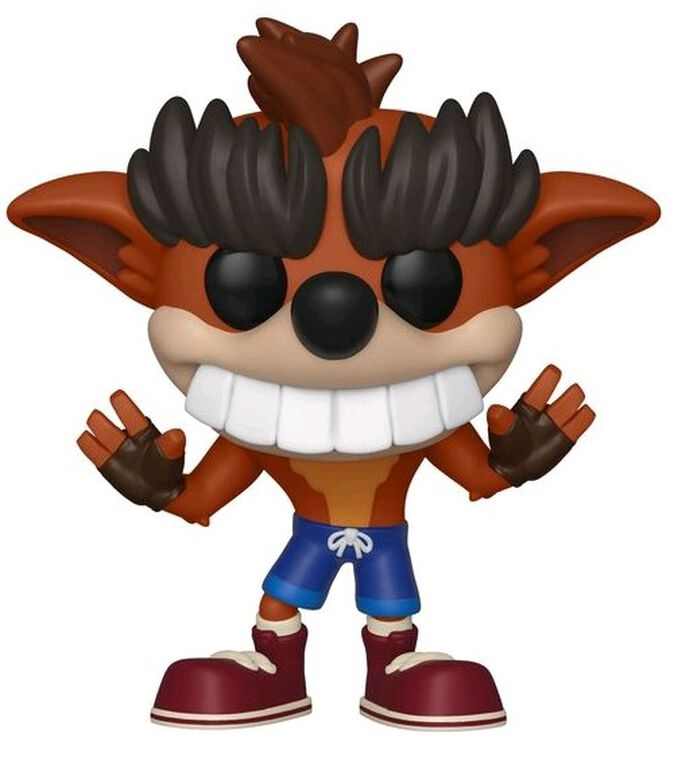 Figurine Funko Pop! N°422 - Crash Bandicoot - S2 Trash Bandicoot - Exclusivité Micromania-Zing