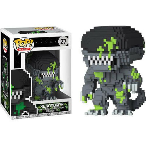 Figurine Funko Pop! N°27 - Alien - 8-bit Xenomorph