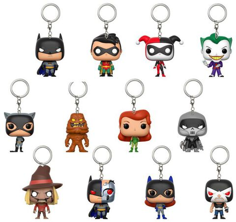 Porte-clés - Batman The Animated Series - Pop Assortiment