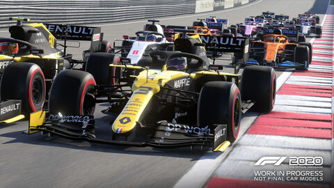 Précommande F1 2020