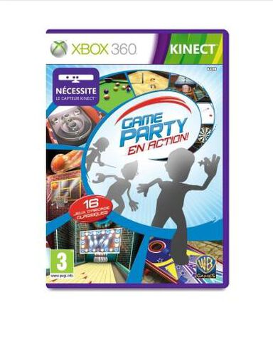 Game Party, En Action (kinect)