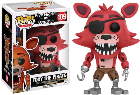Figurine Funko Pop! N°109 - Five Nights at Freddy's - Foxy The Pirate