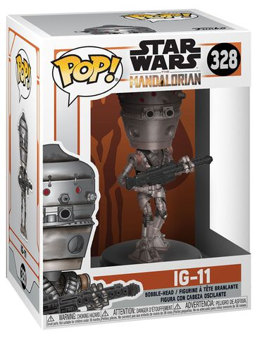 Figurine Funko Pop! N°328 - Star Wars Mandalorian - Ig-11