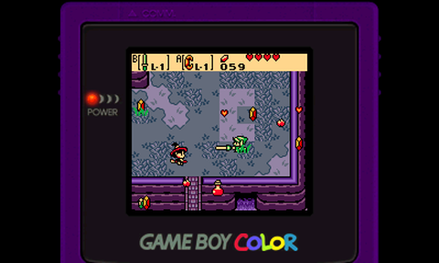 The Legend of Zelda Oracle of Ages (GBC)