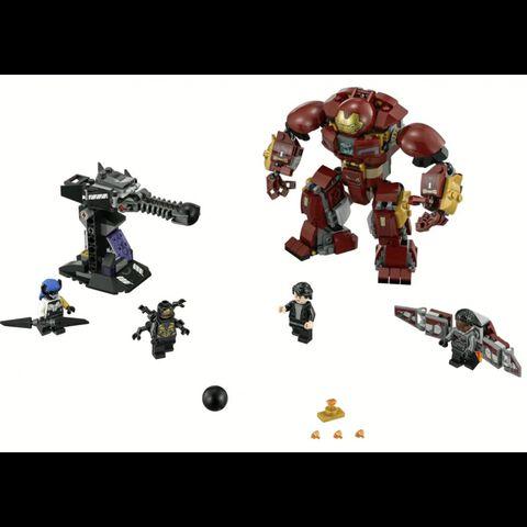 Lego - Marvel - 76104 - Le combat de Hulkbuster