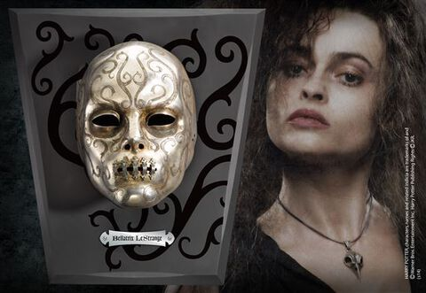 Réplique - Harry Potter - Masque Mangemort Bellatrix Lestrange
