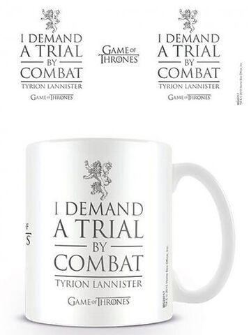 Mug - Game of Thrones - Trial By Combat