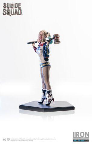 Statuette Iron Studios - Suicide Squad - Harley Quinn 18 cm