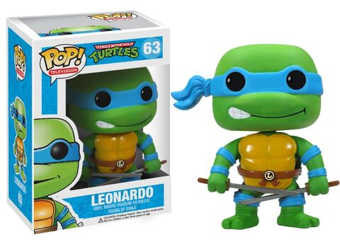 Figurine Funko Pop! N°63 - Les Tortues Ninja - Leonardo