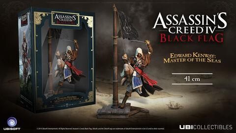 Figurine - Assassin's Creed 4 - Buccaneer Edward Kenway