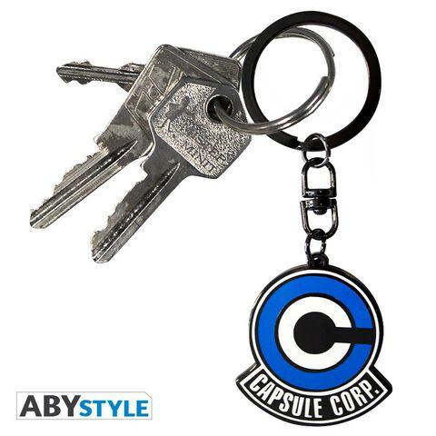 Porte-clés - Dragon Ball Z - Emblème capsule corp