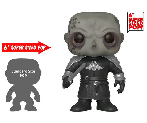 Figurine Funko Pop! N°85 - Game Of Thrones - The Mountain (démasqué) 15 cm