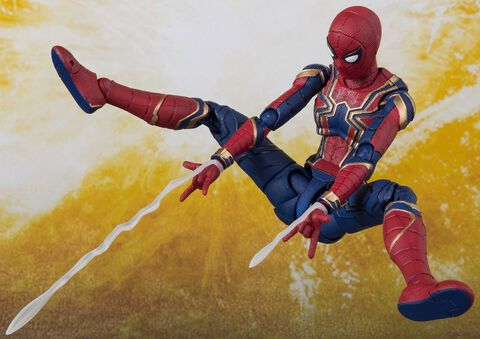 Figurine S.h Figuarts - Avengers Infinity War - Iron Spider