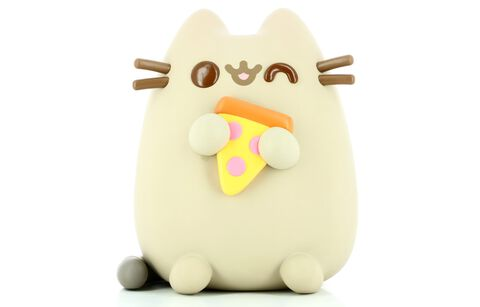 Figurine Funko Pop! N°29 - Pusheen - Pusheen Avec Pizza 25 Cm