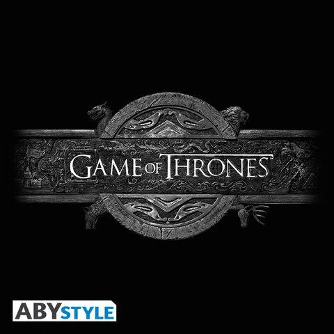 T-shirt - Game of Thrones - Logo de Démarrage - Taille M